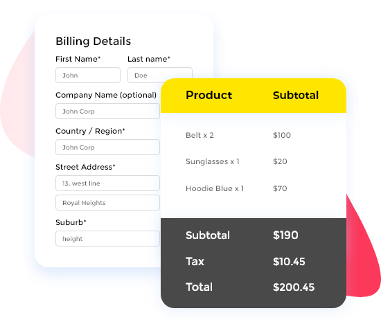 elementor woocommerce checkout page